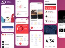 Marathon App - Design