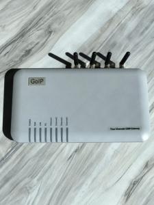 Настройка шлюза Goip 4