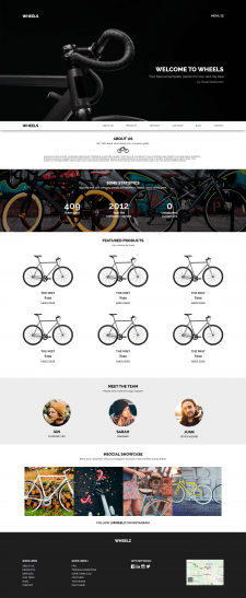 Landing Page | Wheels