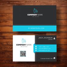 Дизайн визитки для юриста