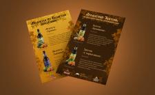 Вкладыш в меню(презентация алкоголя)