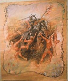 Иллюстрация. Пастель