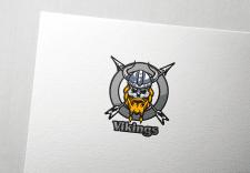 "Логотип байкерского клуба ""Vikings"""