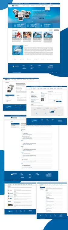 Дизайн сайта энергоконтроль