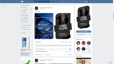 Создание двух вариантов аватара для сообщества