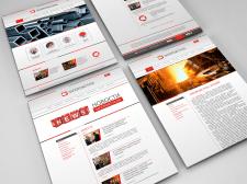 Дизайн сайта для завода «Запорожсталь»