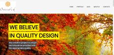 Сайт-визитка дизайн-студии