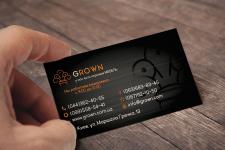 визитка для компании по продаже мебели
