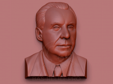 3Д моделирование барельефа для мемориальной доски