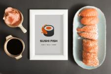 Дизайн логотипа Суши - бара Black