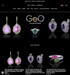 Магазин Shopify Geo-Gems