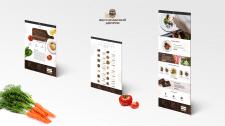 Разработка сайта для ресторана с корзиной