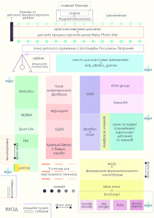 План-схема мероприятия