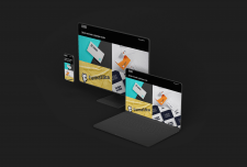 Дизайн сайта для logochopper