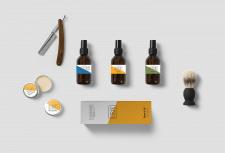Дизайн упаковки компании Scandinavian Beards