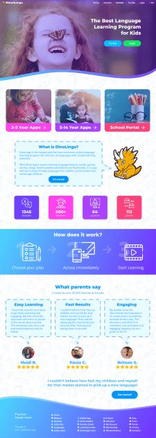 Дитячий сайт для вивчення англійської