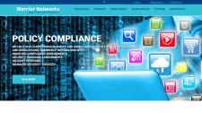 Сайт компании информационной безопасности