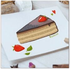 Иллюстрация кейков для каталога