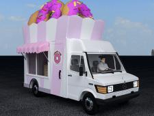 Машина по продаже пончиков