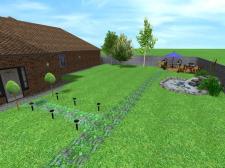 Дизайн участка (озеленение)