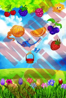 Дизайн для мобильной детской игры.