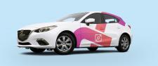 Дизайн авто для компании Instamar