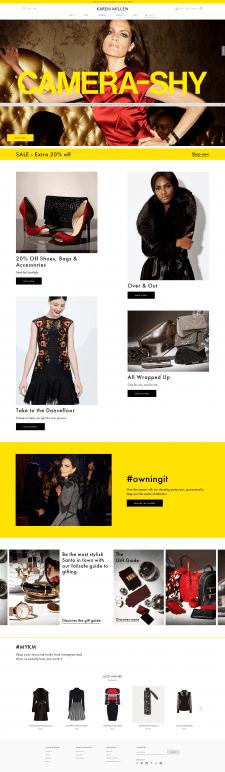 Интернет магазин одежды Karen Millen
