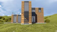 Дом з морських контейнеров