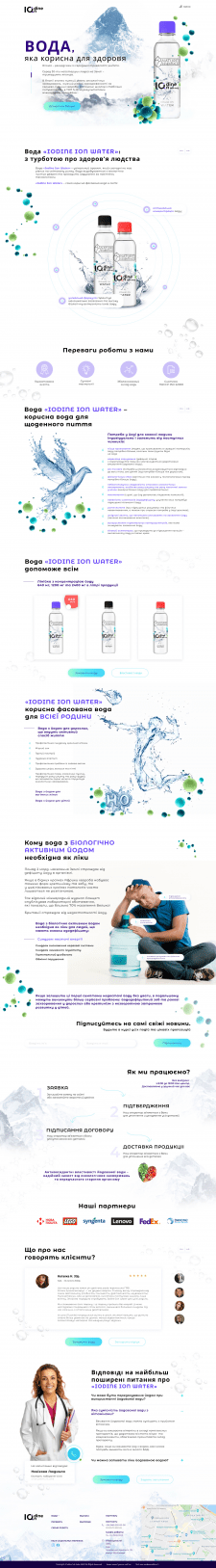 Iodine Ion Water