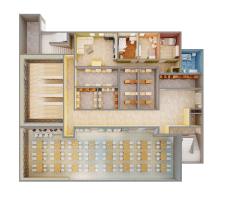 план общежития 3