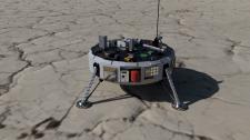 3д модель марсианской станции