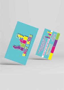 логотип та візитка для магазину дитячих товарів