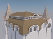 Крыша магазина