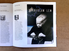 Poster about Stanislav Lem