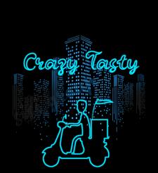 Логотип в стиле неон