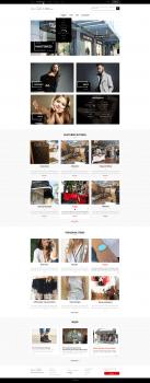 Дизайн сайта Butiqe