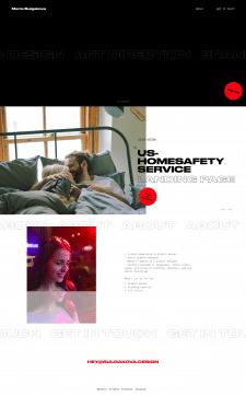 Верстка сайта для дизайнера