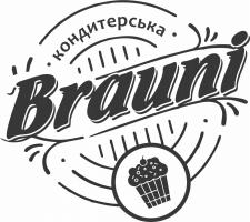 """Логотип кондитерской """"Brauni"""""""