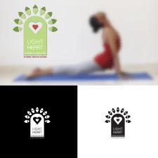 Лого для центра йоги