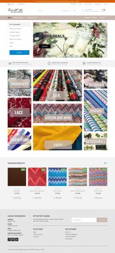 Ткани для одежды, мебели, штор, технические