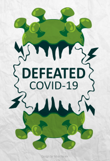 defeated covid-19 - 2020