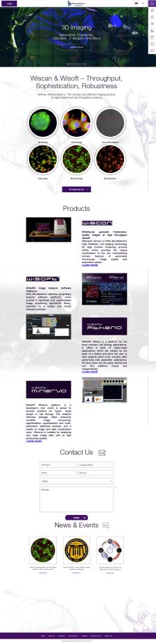 Сайт израильской компании