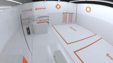 3D визуализация спортклуба/Заказ