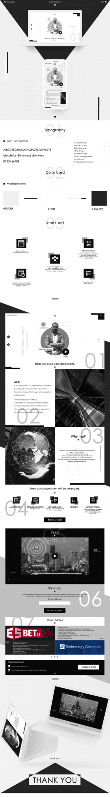 Web design - Alex Recruitment