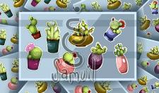 Наклейки с кактусами