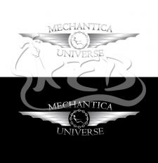 Логотип для создателя скульптур в стиле стимпанк