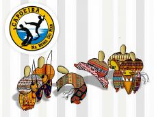 логотип+иллюстрация для клуба капоэйры
