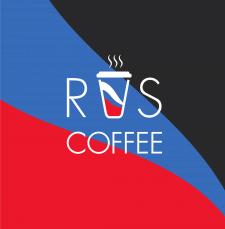 Логотип для кофейни RUS coffee