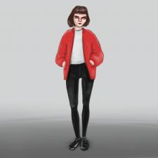 Персонаж девушка