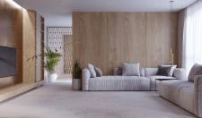 Квартира в мінімалістичному стилі з еко-матеріалам